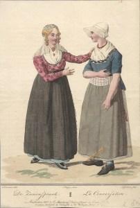 Zaamenspraak, Maaskant 1807