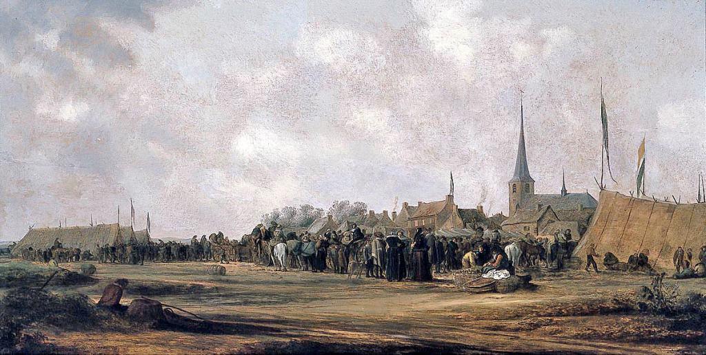 Paardenmarkt Valkenburg , Ruijsdaal